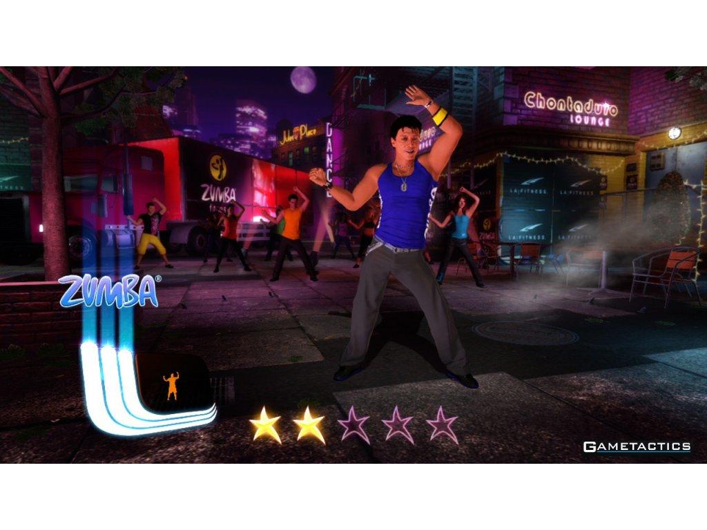 Nintendo Wii Zumba Fitness Core (pouze hra)