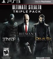 PS3 Ultimate Stealth Triple Pack Thief - Hitman - Deus Ex