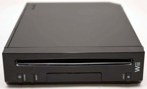 Nintendo Wii - herná konzola - čierne