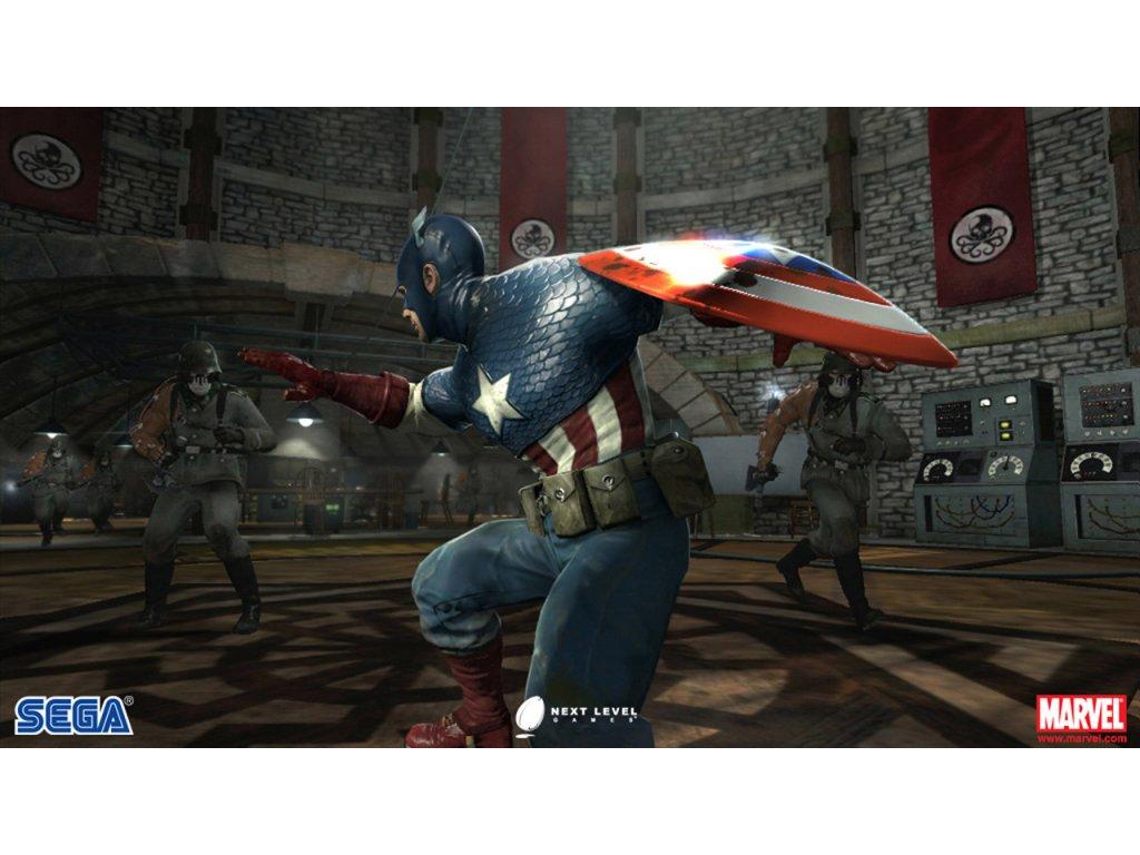 Xbox 360 Captain America Super Soldier