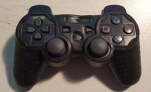 [PS3] Bezdrôtový Ovládač Sony Dualshock - čierny (rôzne estetické vady) + pouzdro
