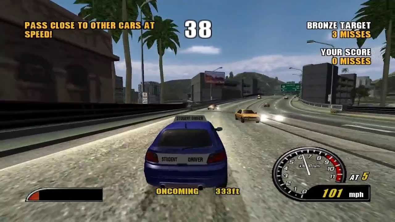 PS2 Burnout 2 Point of Impact