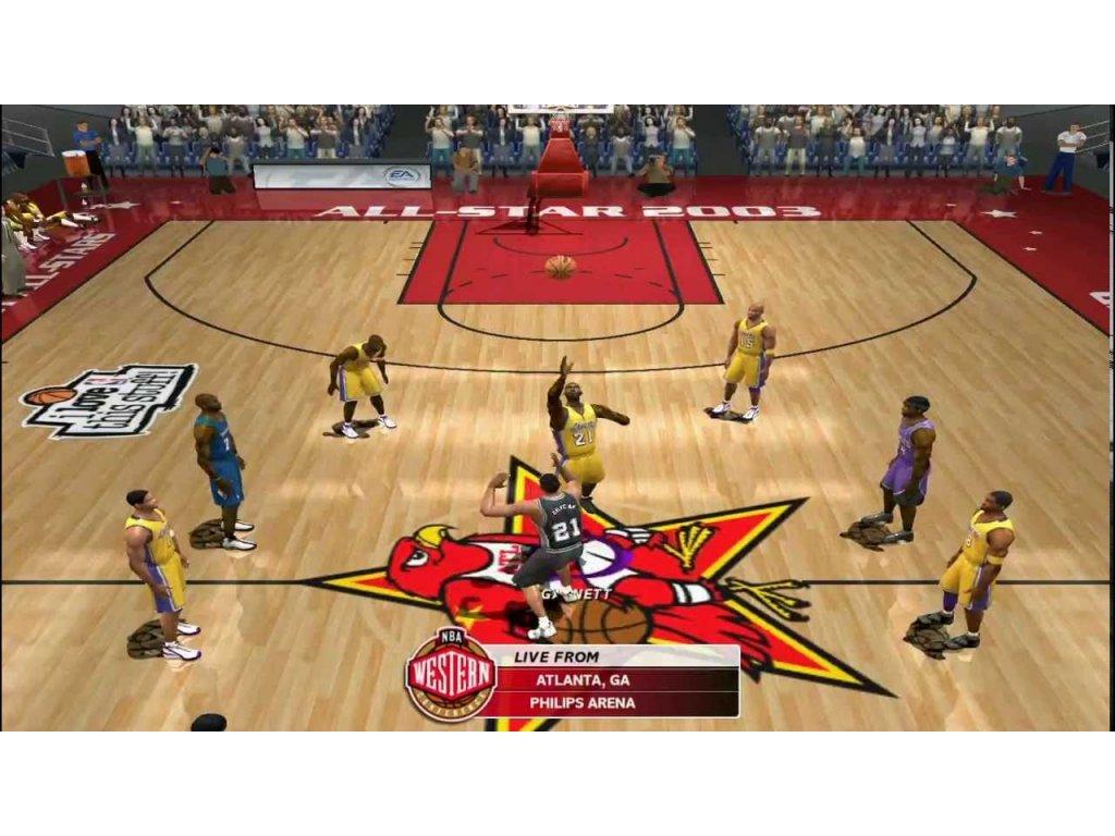 PS2 NBA Live 03 2003