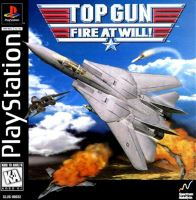 PSX PS1 Top Gun Fire At Will