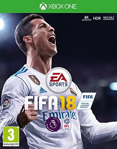 Xbox One FIFA 18 2018 (CZ)