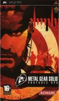 PSP Metal Gear Solid Portable Ops