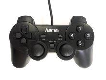 [PC] Drôtový Ovládač Hama Black Force - čierny (estetická vada)