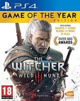 PS4 The Witcher 3: Wild Hunt, Zaklínač 3: Divoký hon - Edícia Hra roku (CZ) (nová)