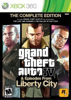Xbox 360 GTA 4 Grand Theft Auto IV The Complete Edition