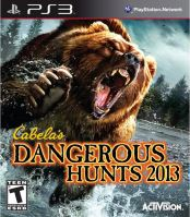 PS3 Cabelas Dangerous Hunts 2013