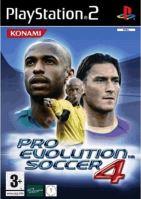 PS2 PES 4 Pro Evolution Soccer 4