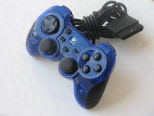[PS2] Drôtový Ovládač Logitech G-X2F16 - modrý priehľadný