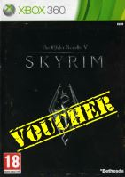 Voucher Xbox 360 Skyrim The Elder Scrolls 5