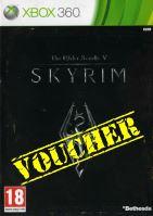 Voucher Xbox 360 Skyrim The Elder Scrolls 5