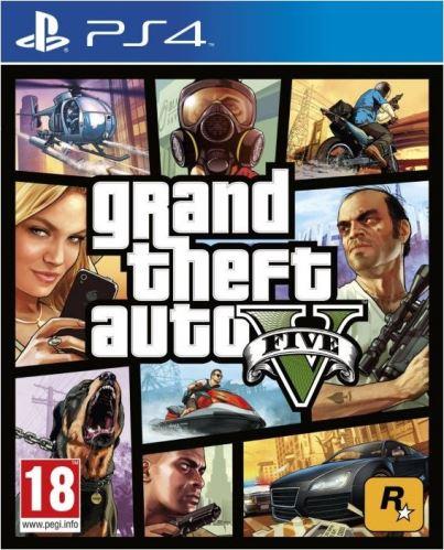 PS4 GTA 5 Grand Theft Auto V
