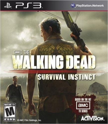 PS3 The Walking Dead Survival Instinct