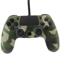 [PS4] Drátový ovladač army maskáčový (nový)