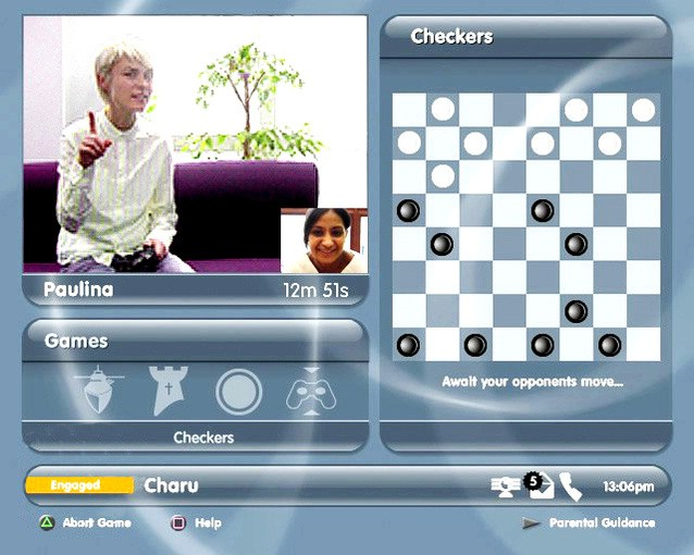 PS2 EyeToy Chat
