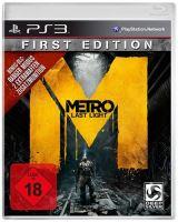 PS3 Metro Last Light First Edition (CZ)