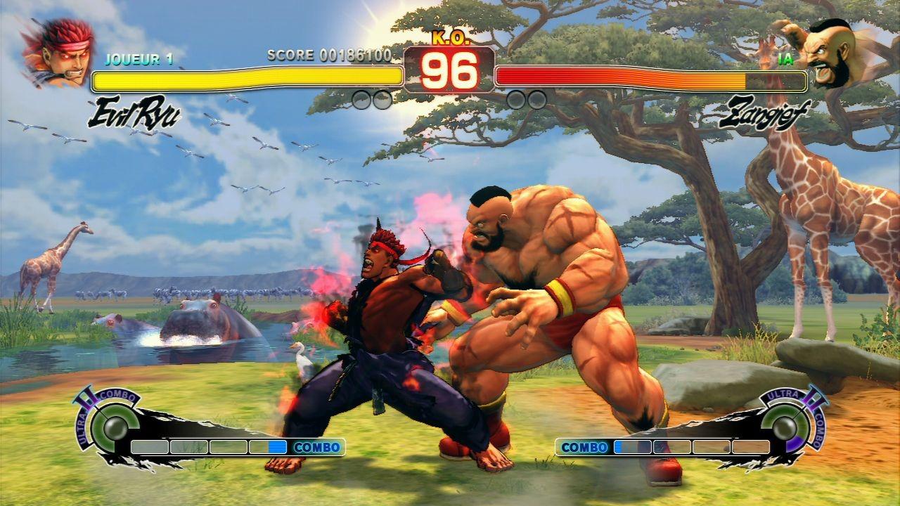 Xbox 360 Super Street Fighter 4 Arcade Edition