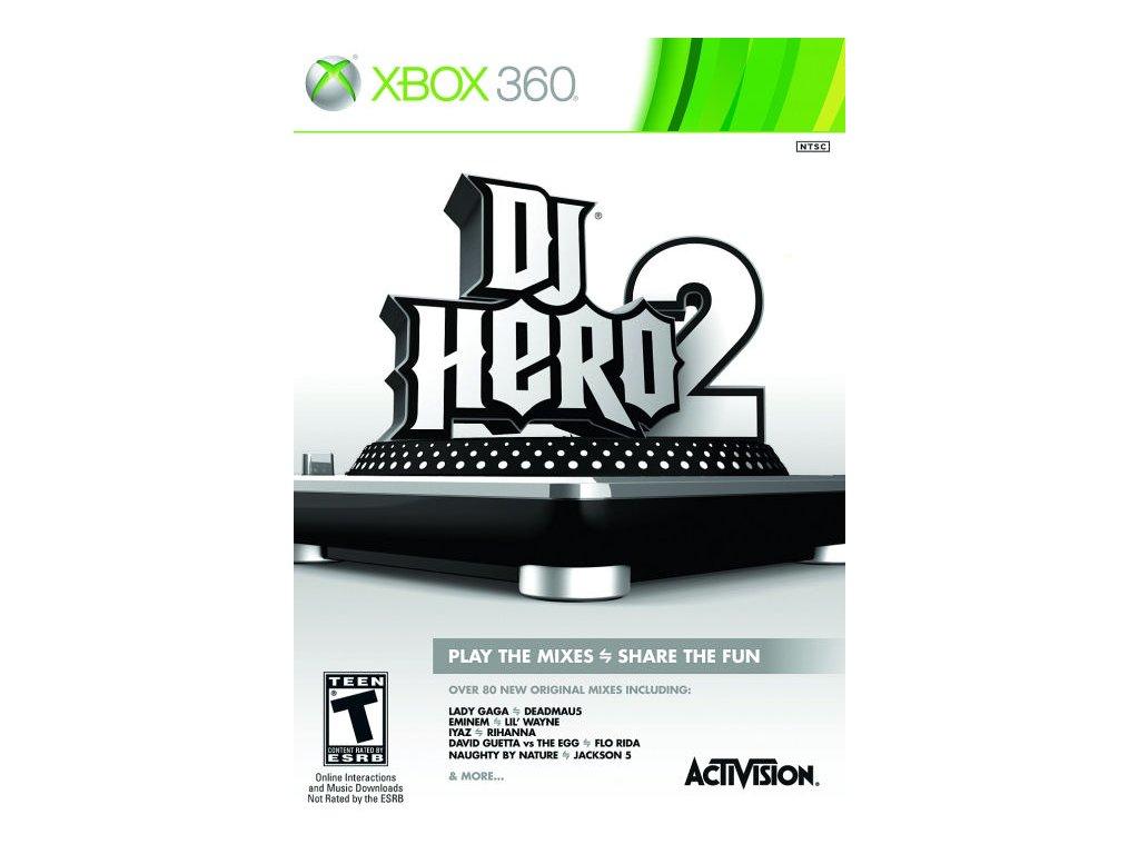 Xbox 360 DJ Hero 2 (iba hra)