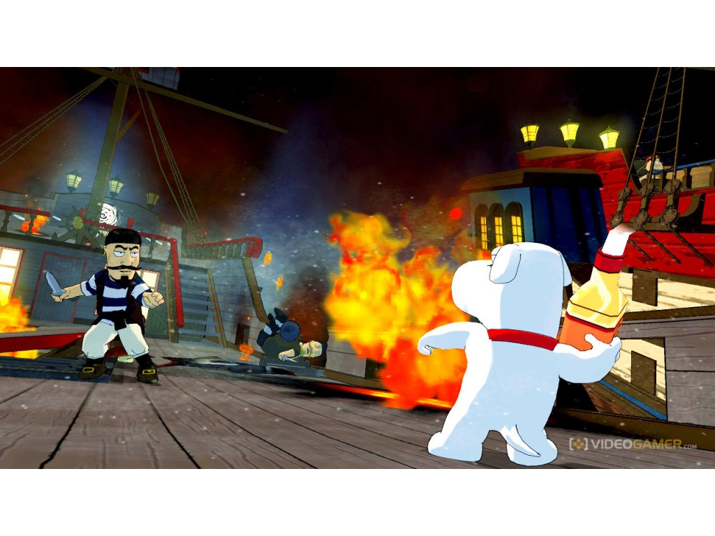 PS3 Griffinovi, Family Guy: Back To The Multiverse