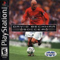 PSX PS1 David Beckham Soccer