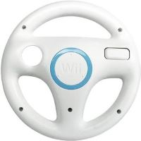 [Nintendo Wii] Wheel - biela