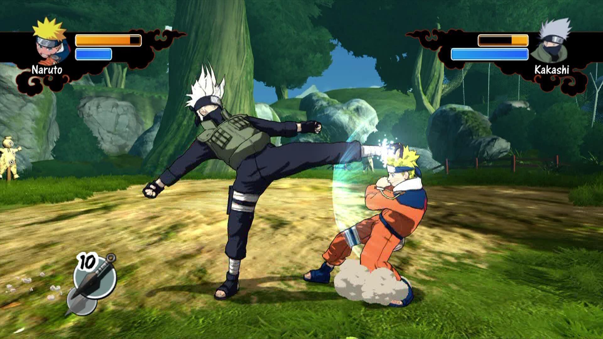 Xbox 360 Naruto Rise Of A Ninja