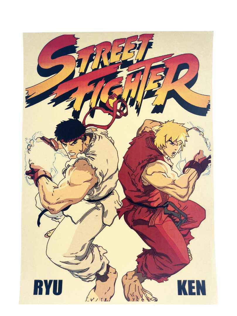 Plagát Street Fighter (a) (nový)
