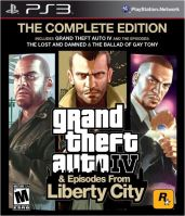 PS3 GTA 4 Grand Theft Auto IV The Complete Edition (nová)