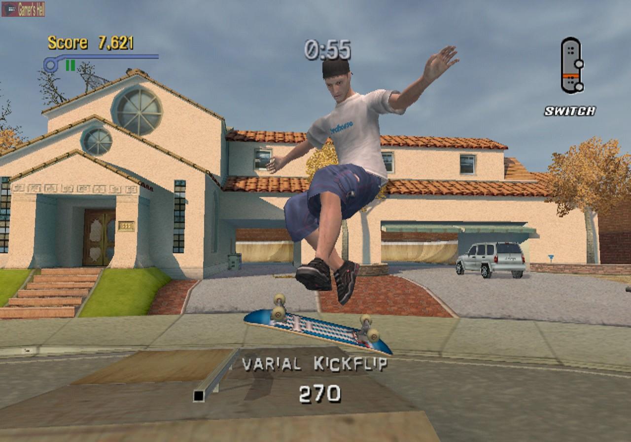 PS2 Tony Hawks Pro Skater 3 (DE)