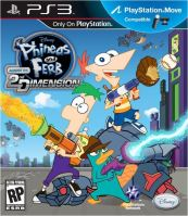 PS3 Phineas And Ferb: Across The 2nd Dimension