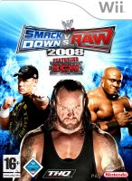 Nintendo Wii SmackDown vs Raw 2008