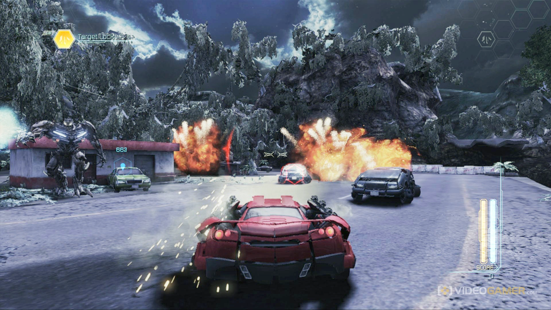 Xbox 360 Transformers 3 Dark Of The Moon
