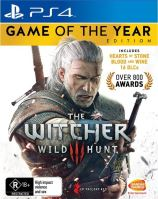 PS4 The Witcher 3: Wild Hunt, Game of The Year Edition