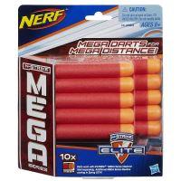 NERF - N-Strike Elite Mega 10ks - Náhradné Šípky (nové)