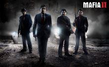 Plagát Mafia 2 Mafia II - Vito, Joe, Henry a Eddie, retro štýl (nový)