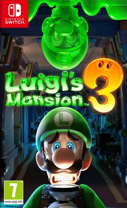Nintendo Switch Luigi's Mansion 3 (nová)