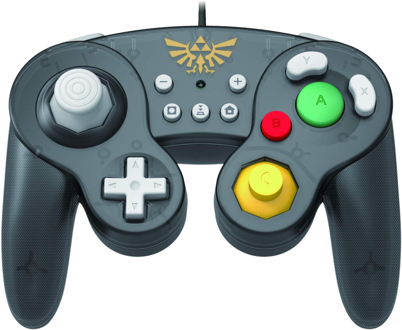[Nintendo Switch] Drôtový Ovládač Hori GameCube Style BattlePad - Zelda