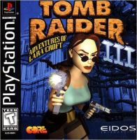PSX PS1 Tomb Raider 3