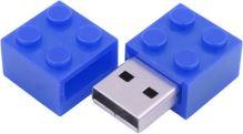 USB 2.0 Flash Disk 32 GB - LEGO kostička modrá (nový)