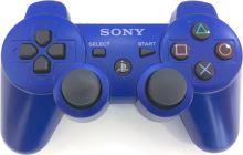 [PS3] Bezdrôtový Ovládač Sony Dualshock - modrý (rôzne estetické vady)