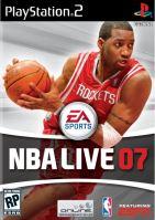 PS2 NBA Live 07 2007