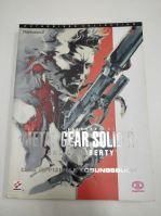 Príručka Metal Gear Solid 2 Sons of Liberty (DE) (estetická vada)