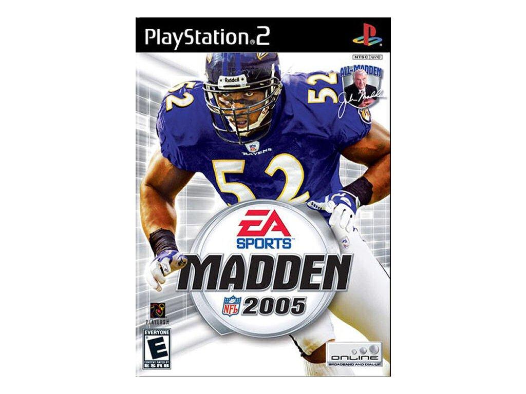PS2 Madden NFL 05 2005