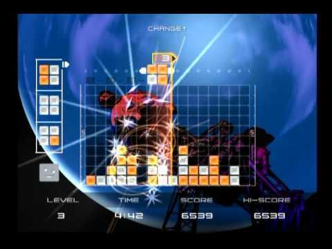 PS2 Lumines: Puzzle Fusion
