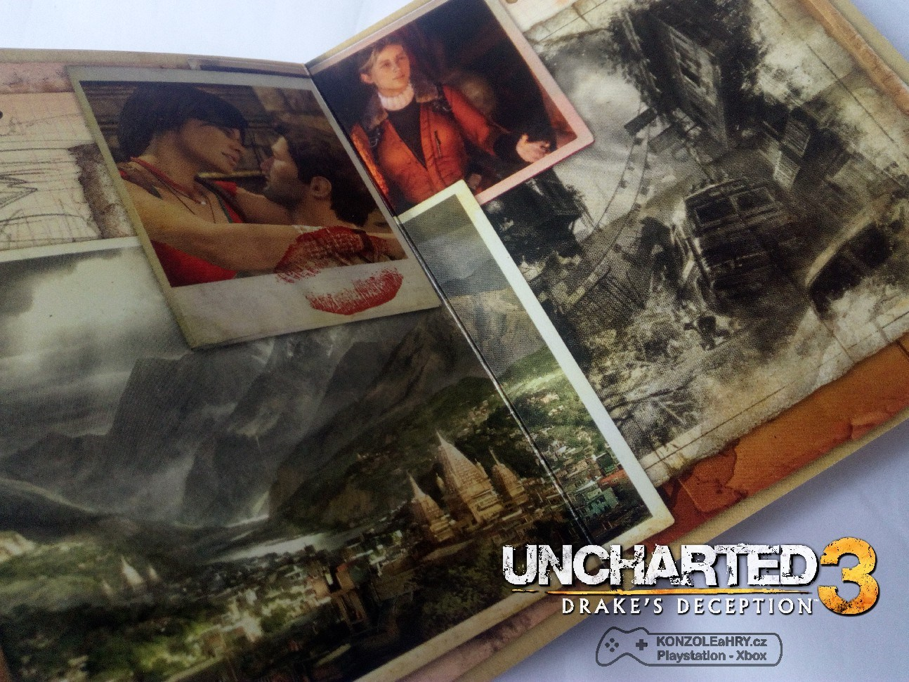 PS3 Uncharted 3 - Drakes Deception: Special edition (CZ)