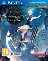 PS Vita Deception IV Blood Ties