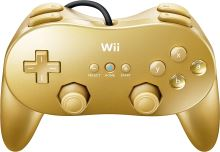 [Nintendo Wii] Classic Controller Pro - Gold
